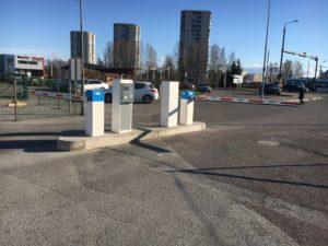 BE-BARMATIC parkimissüsteem