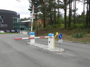 Objekt Noorus Spa/Tellija Pristis AS. ELKA tõkkepuud